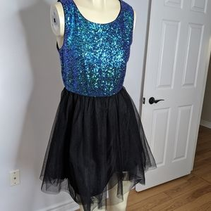 Divided - sequin tutu dress
